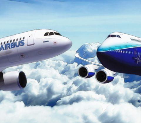 Perbedaan Boeing Dan Airbus